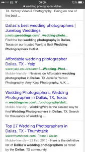 wedding photographer dallas mobile search 02