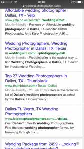 wedding photographer dallas mobile search 03